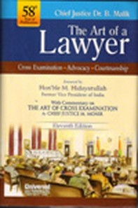 Art of a Lawyer -Cross Examination, Advocacy, Courtmanship, 11th Edn.