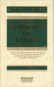 Law of Contempt of Court, 3rd Edn.