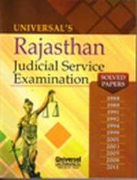 Rajasthan Judicial Service Examination (Solved Papers), 2nd Edn.