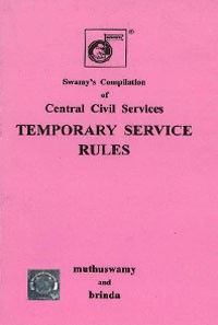 Swamys Central Civil Services Temporary Service Rules, 1965