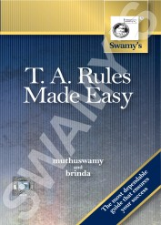 Swamy's T.A. Rules Made Easy