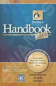 Swamy's Handbook for CGS 2018