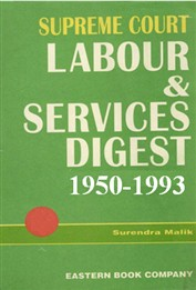 Supreme Court Labour & Services Digest (1950-1993) [6 Volumes]