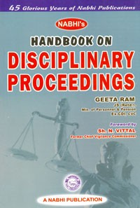 Handbook on Disciplinary Proceedings