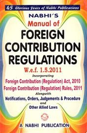 Manual of Foreign Contribution Regulations