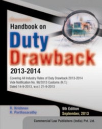 Handbook on Duty Drawback