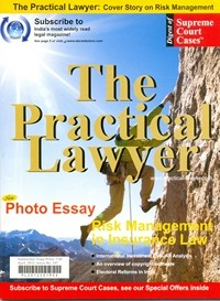The Practical Lawyer [Cover Story on Risk Management]