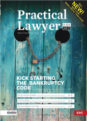 The Practical Lawyer - Kick starting the Bankruptcy Code