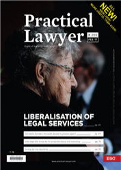 Practical Lawyer - Liberalisation of Legal Services