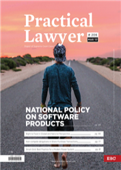 Practical Lawyer - National Policy on Software Products