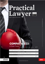 Practical Lawyer - Compact v. CCI: A Power Tussle