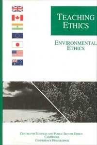 Teaching Ethics: Environmental Ethics