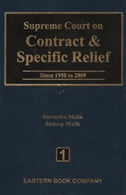 Supreme Court on Contract and Specific Relief Vol. 1 (Old Edition)