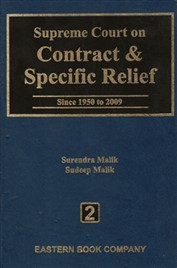 Supreme Court on Contract and Specific Relief Vol. 2 (Old Edition)