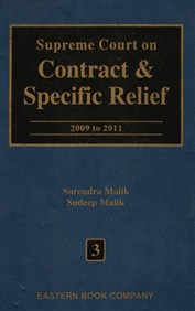 Supreme Court on Contract and Specific Relief Vol. 3 (Old Edition)