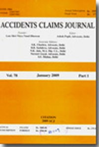 Accidents Claims Journal (ACJ),  important judgments of High Courts and the Supreme Court of India for guidance of motor accident claims tribunals