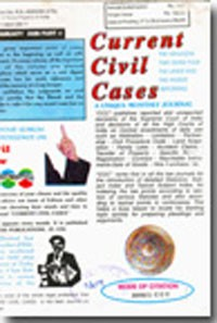 Current Civil Cases (Monthly)