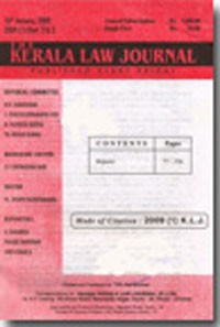 The Kerala Law Journal (KLJ) [Weekly]