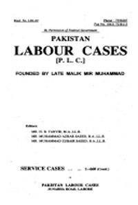Pakistan Labour Cases (PLC)