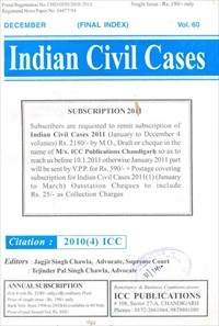 Indian Civil Cases - 4 Volumes