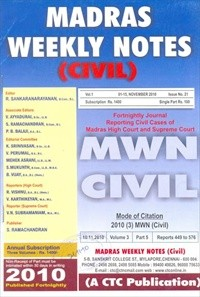 Madras Weekly Notes (Civil)