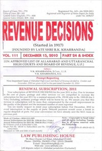 Revenue Decisions (RD) 4 Vols.