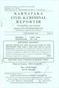 Karnataka Civil and Criminal Reporter