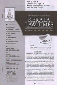 Kerala Law Times (KLT)