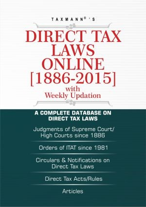 Direct Tax Laws Online with weekly Internet Updates