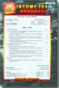 Income Tax Reports (ITR) Paperbound Vol Service