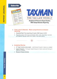 The Tax Law Weekly