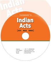 Indian Acts & Rules on DVD (All Modules)