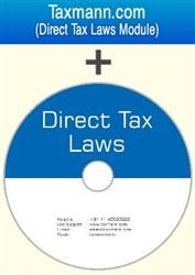 Direct Tax Laws on DVD with Direct Tax Laws Module