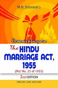 Commentary on The Hindu Marriage Act, 1955, 2nd New Edition
