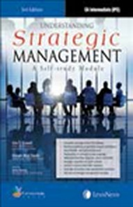 Understanding Strategic Management (A Self -Study Module), 3/e
