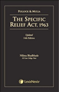 THE SPECIFIC RELIEF ACT-1963, Rep.2016