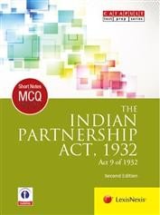 Short Notes & Multiple Choice Questions: The Indian Partnership Act, 1932 (Act 9 of 1932)
