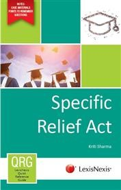 LexisNexis Quick Reference Guide : Specific Relief Act