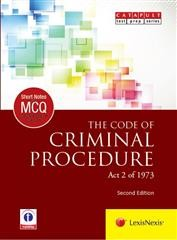 LexisNexis Short Notes and Multiple Choice Questions : THE CODE OF CRIMINAL PROCEDURE (Act 2 of 1973)
