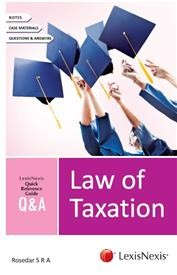 LexisNexis Quick Reference Guide Q & A - Law of Taxation