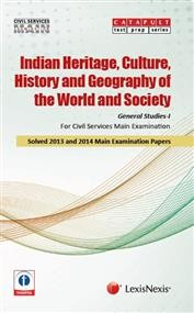 General Studies-I (Indian Heritage and Culture, History and Geography of the World and Society) Civil Services (Main) Examination