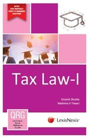 LexisNexis Quick Reference Guide - Tax Law-I