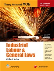 INDUSTRIAL LABOUR AND GENERAL LAWS (MCQ)