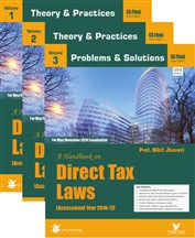 DIRECT TAXATION (VOLUME I)