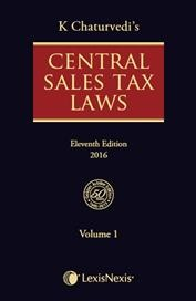 Central Sales Tax Laws (Set of 2 Volumes)