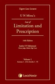 Tagore Law Lectures-Law of Limitation and Prescription (Set of 2 Volumes)