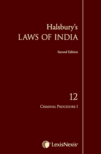 Halsbury's Laws of India, Volume 12 - Criminal Procedure I
