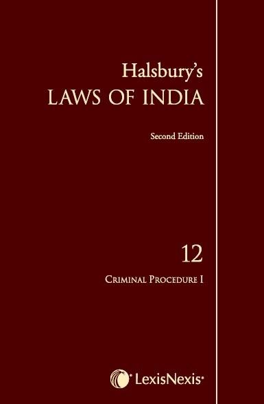 Halsbury's Laws of India-Criminal Procedure I; Vol 12