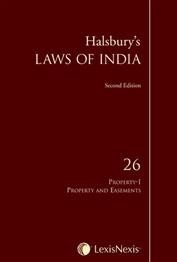 Halsbury's Laws of India, Volume 26: Property I - Property and Easements