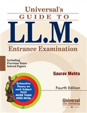 Universal's Guide to LL.M. Entrance Examination - including Previous Years Solved Papers